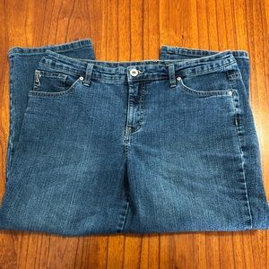 Style & Co denim tummy control Capri pants